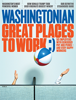 Washingtonian November 2015